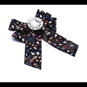 Bow Tie Brooch (Floral)
